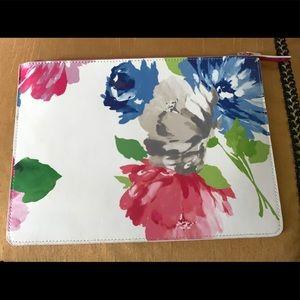 Kate Spade envelope floral clutch bag.